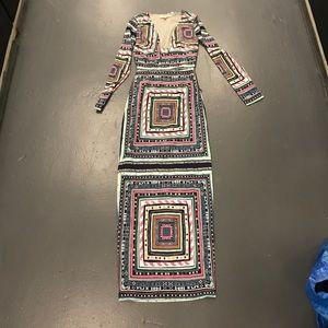 Mara Hoffman silk print dress